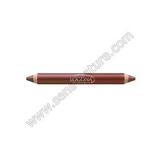 Crayon Rouge à lèvres duo n°2 Chestnut