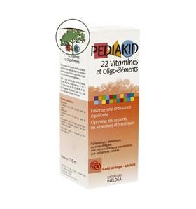 Sirop 22 vitamines et Oligo-éléments - 125 ml