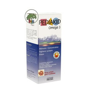 Sirop Omega 3 et DHA - 125 ml