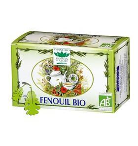 Tisane fenouil bio - Digestion - 20 sachets
