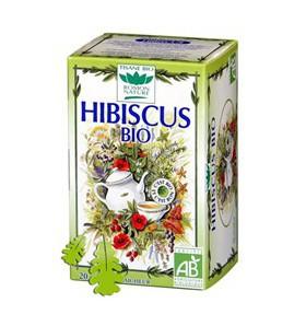 Tisane hibiscus bio - Bien-être - 20 sachets