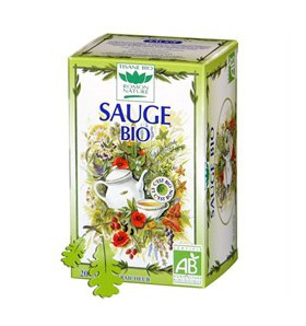Tisane sauge bio - Digestion - 20 sachets