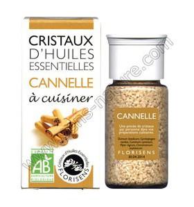 Cristaux d'huiles essentielles - Cannelle