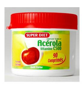 Acérola vitamine C 500 - 90 comprimés