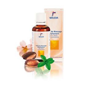Huile de massage allaitement - 50 ml