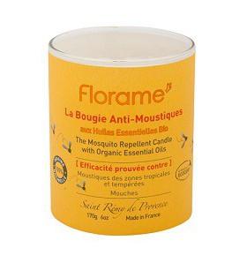 FLORAME - Bougie Anti-Moustiques