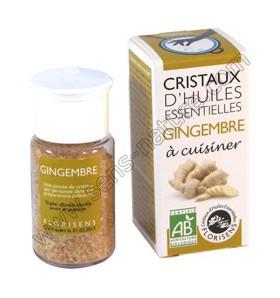 Cristaux d'huiles essentielles - Gingembre