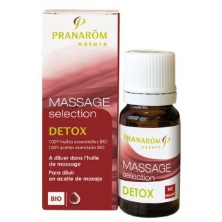 Huile de massage Sélection - Détox BIO 10ml