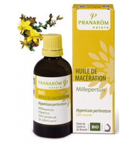 Huile végétale bio de Millepertuis - 50 ml