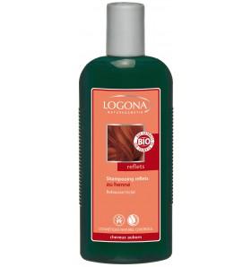Shampooing reflets au henné - Cheveux auburn à roux 250 ml
