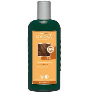 Shampoing reflets à la noisette - Cheveux bruns 250 ml