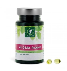 Ail - olivier - aubépine - Confort cardiovasculaire - 270 capsules