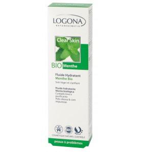 Fluide hydratant Menthe bio - peaux à problèmes - 30 ml