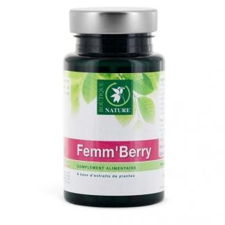 Femm'berry - Confort urinaire - 60 gélules