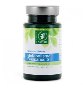 Métabolisme puissance 5 - Minceur - 60 comprimés