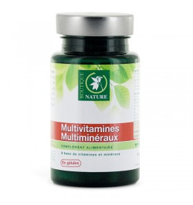 Multivitamines Multiminéraux - 60 gélules