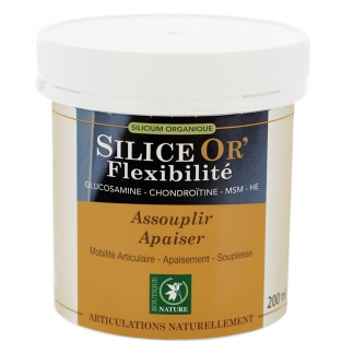 Silice or' Flexibilité - Gel corps - 200 ml