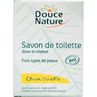 Savon de toilette Citron-Girofle bio - 100 g