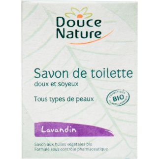 Savon de toilette Lavandin bio - 100 g