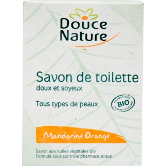 Savon de toilette Mandarine-Orange bio - 100 g