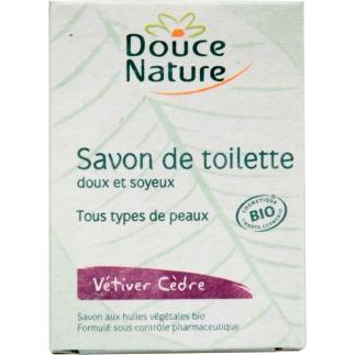 Savon de toilette Vétiver-Cèdre bio - 100 g