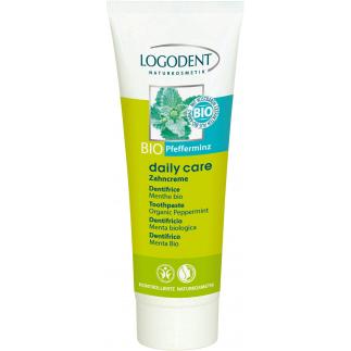 Dentifrice à la menthe - Daily Care - Aloès & verveine bio - 75 ml