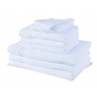 Serviettes bio 30 x 30 cm - 450 gr - éponge coton bio 100%