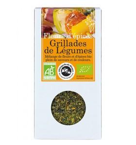 Fleurs d'épices bio Grillades de légumes - 20g