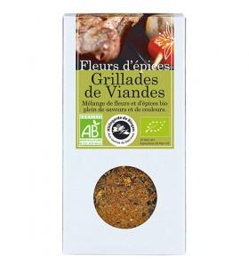 Fleurs d'épices bio Grillades de viandes - 75g