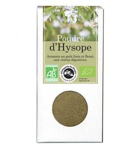 Poudre d'Hysope bio -40g