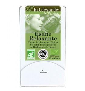 Tisane bio Relaxante - 20 Sachets