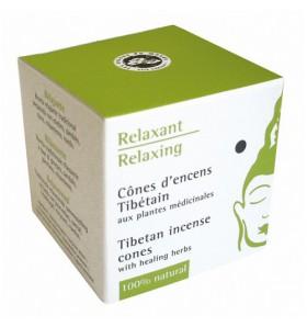 Cônes d'encens tibétain Relaxant - 15 cônes