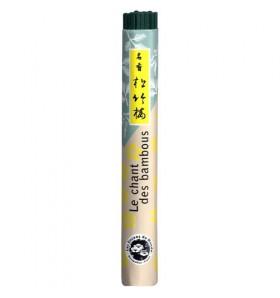 Rouleau encens japonais - Chant des Bambous - 40 bâtonnets