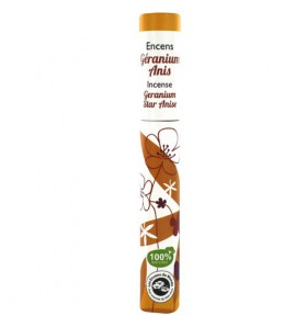 Encens végétal français - Géranium, Anis - 30 bâtonnets