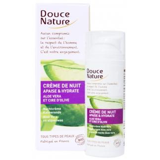 Crème de Nuit Hydratante Aloe Vera - 50 ml