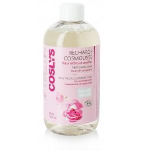 Cosmousse Visage peaux sèches et sensibles - Recharge 300 ml