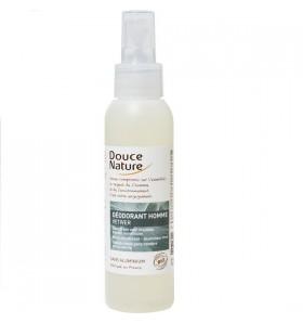 Déodorant homme à l'huile essentielle de vétiver - 125 ml
