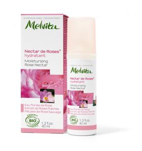 Crème hydratante bio- Nectar de Roses - 40 ml