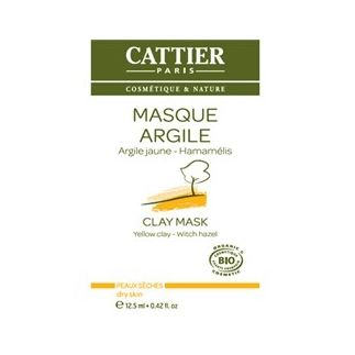 Masque à l'argile jaune hammamélis - UNIDOSE 12.5ml