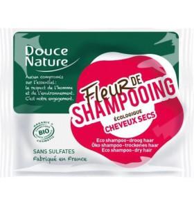 Fleur de shampooing bio - Cheveux secs - 85 gr