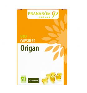 Capsules aromatiques bio - Origan - Résistance - 30 caps