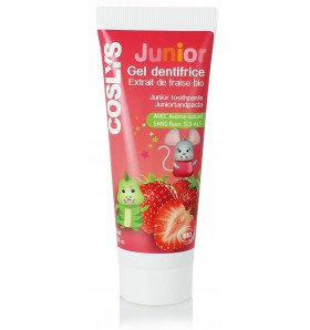 Gel dentifrice Junior à la fraise bio - 50 ml