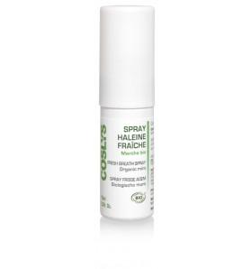 Spray haleine fraîche à la menthe bio - 15 ml