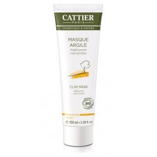 Masque à l'argile jaune - Peaux sèches - 100 ml