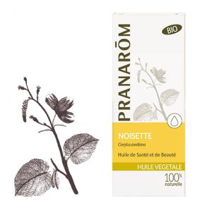 Huile végétale bio de Noisette - 50 ml