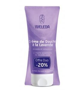 DUO Crème de douche bio à la lavande - 200 ml