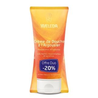 DUO Crème de douche bio à l'argousier - 200 ml
