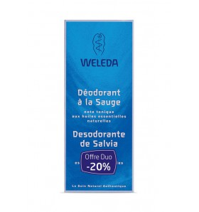 DUO Déodorant bio à la sauge - spray 100 ml