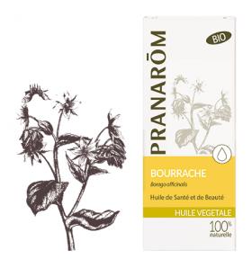 Huile végétale bio de Bourrache - 50 ml