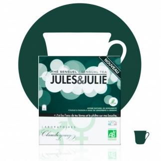 Thé bio Sensuel Jules & Julie - 10 sachets
